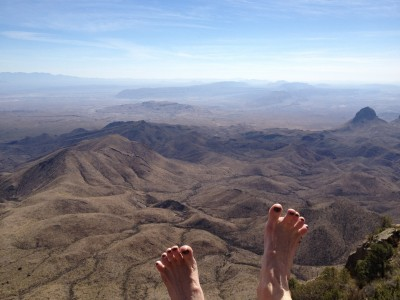 My Toes at the South Rim